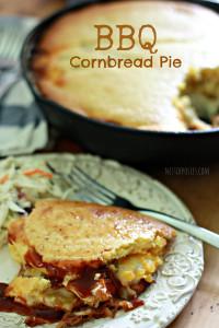 BBQ Cornbread Pie