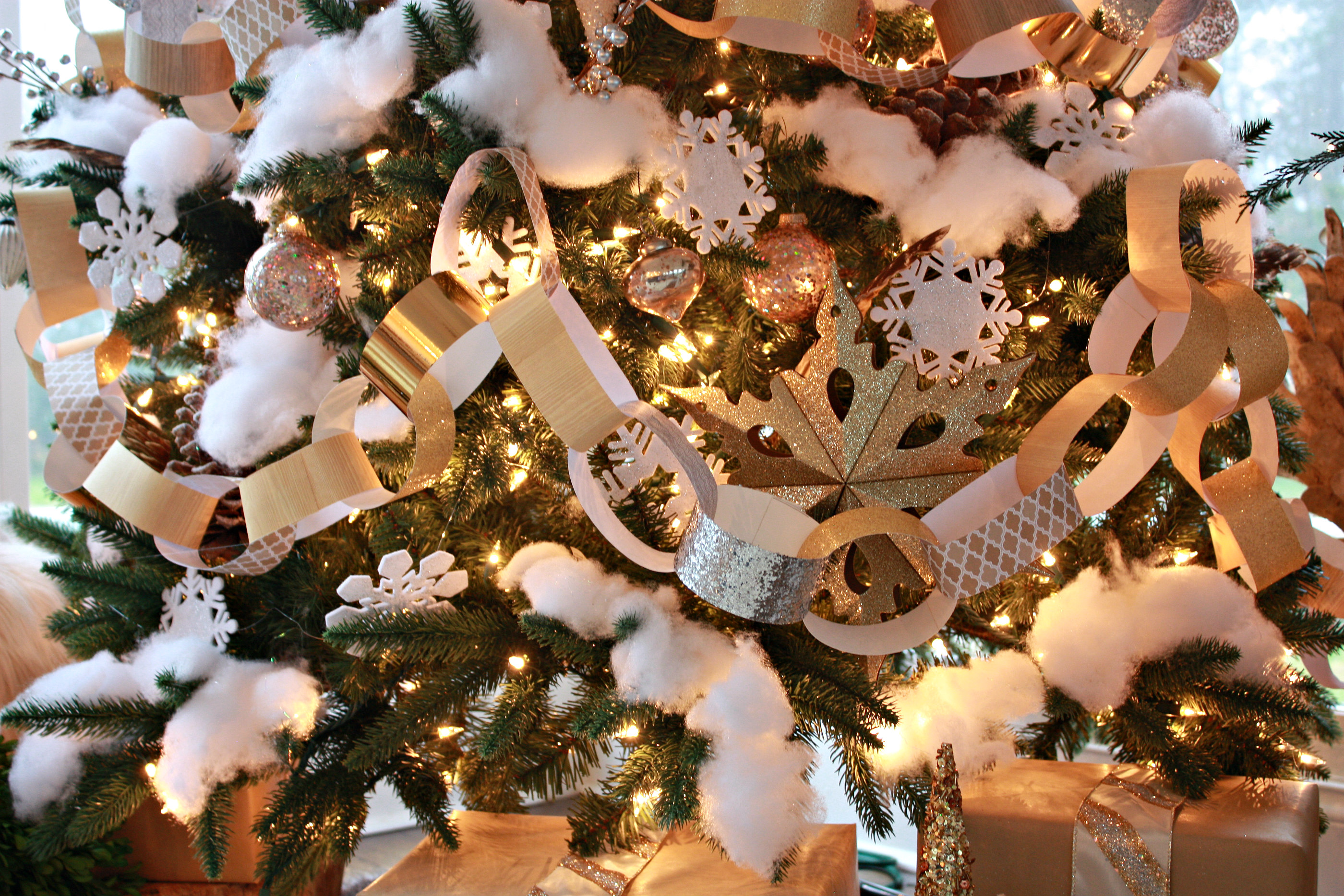 Christmas Mantel Lights