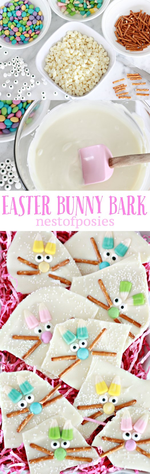 Easter Bunny Bark! So fun & made in minutes