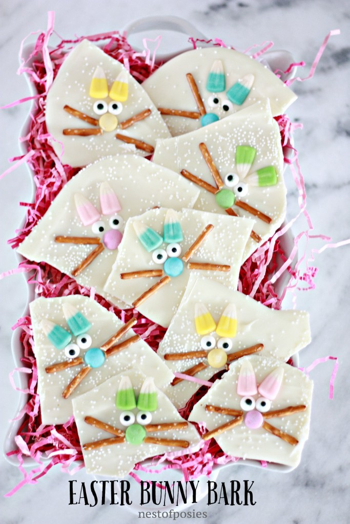 Easter Bunny Bark - the perfect Easter treat!