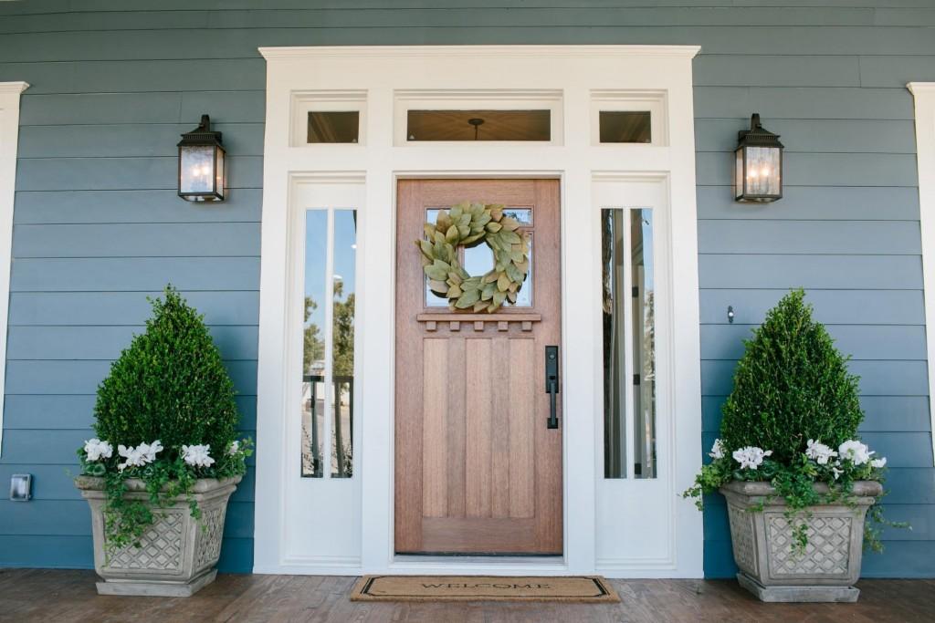 Fixer Upper Front Porch And Door Ideas Nest Of Posies