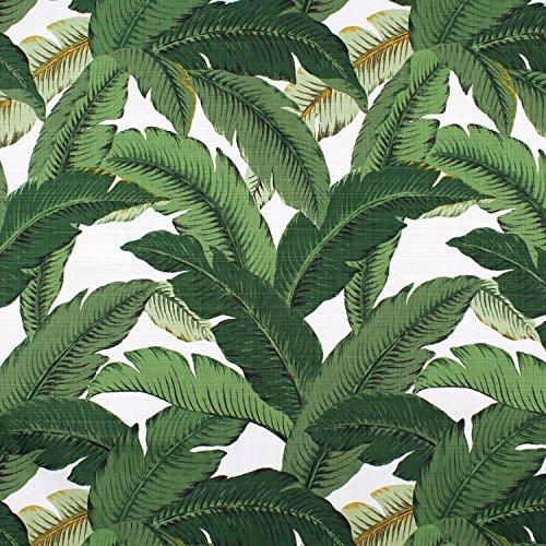 Palm Leaf Banana Leaf Fabric