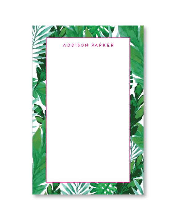 Palm Leaf Stationary