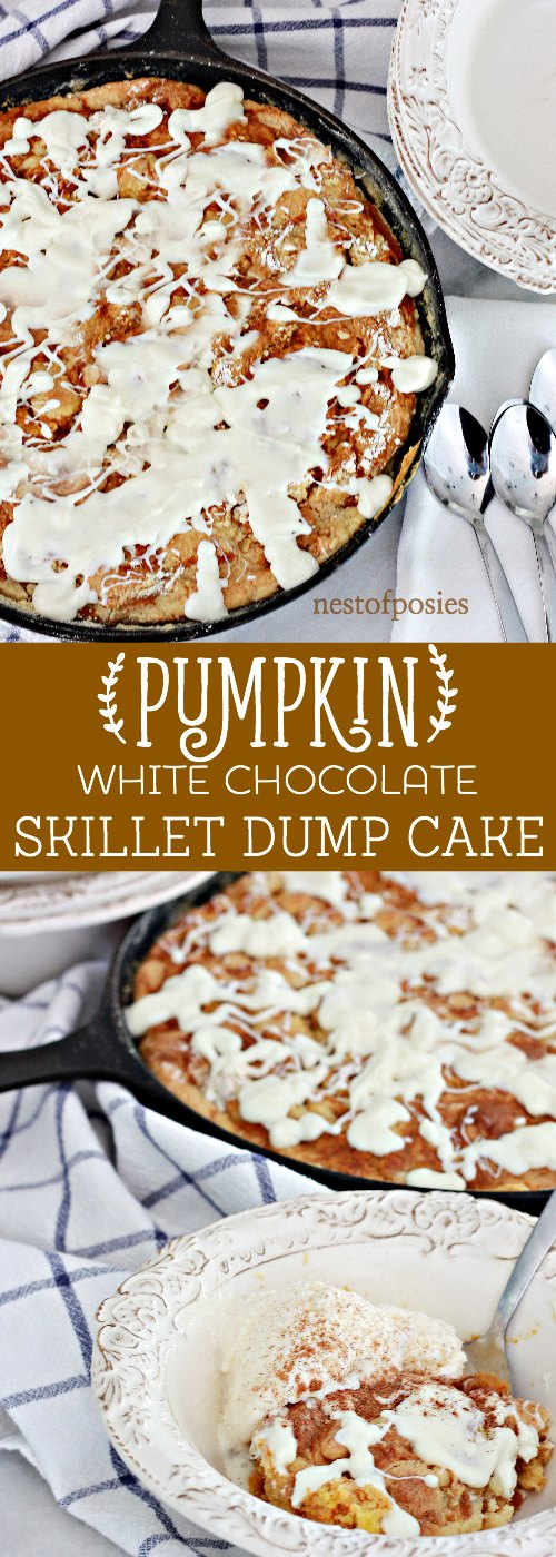 pumpkin-white-chocolate-skillet-dump-cake-pure-comfort-in-a-cast-iron-skillet