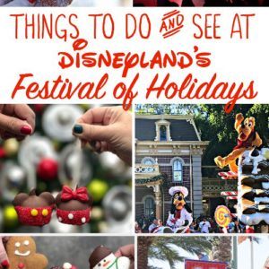 Things to do and see at Disneyland's Festival of Holidays