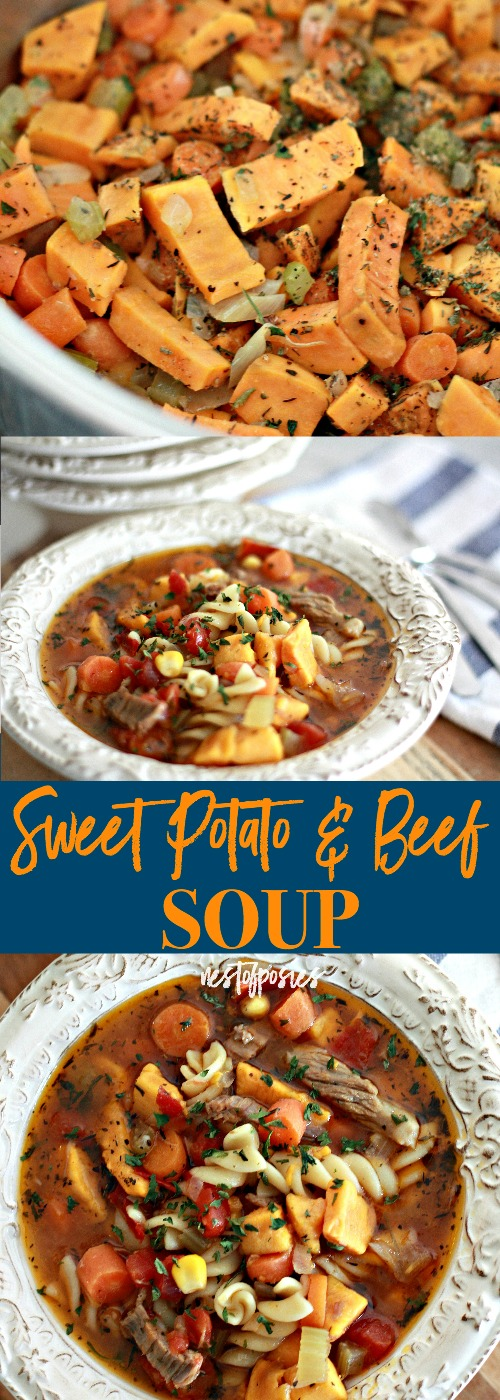 Sweet Potato and Beef Soup