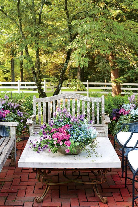 Flower container gardening ideas - Better homes and gardens container gardening ...