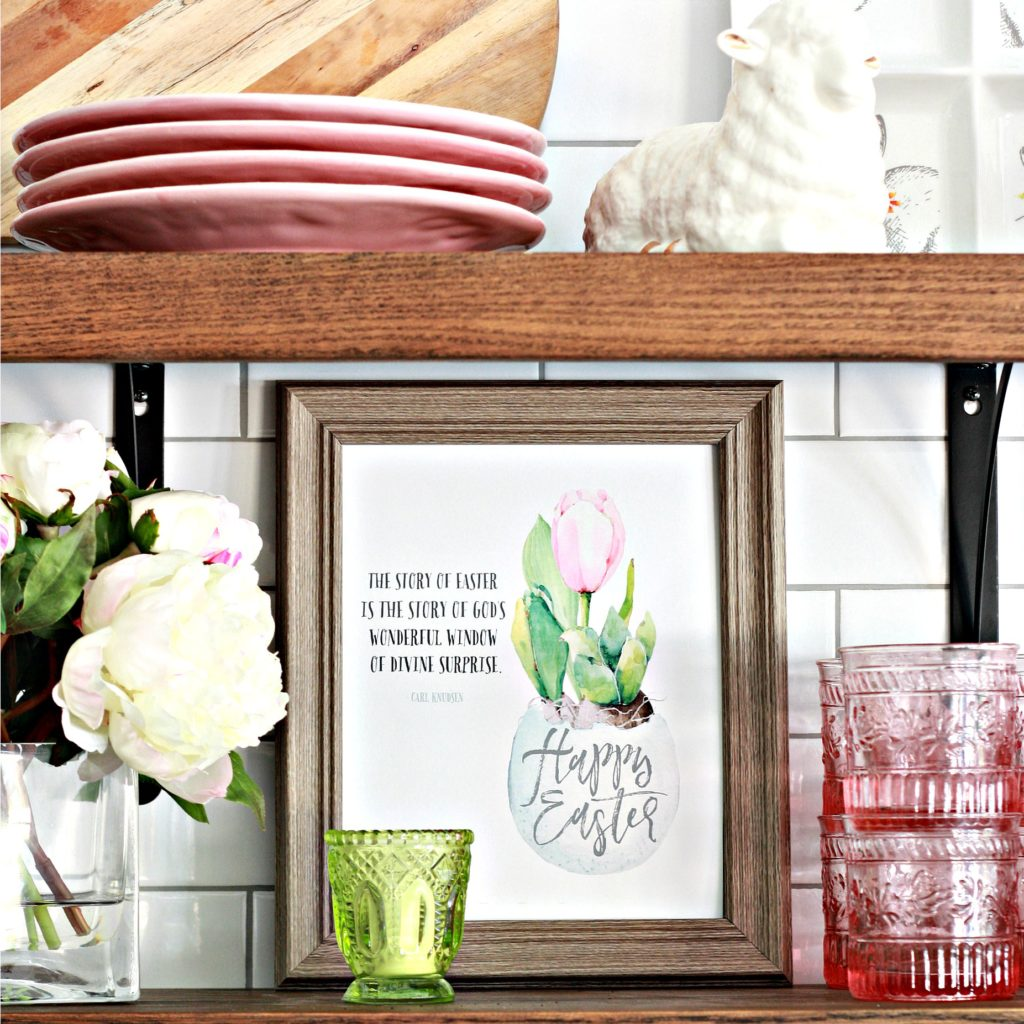 Free Easter Printables with Inspiring Vignettes
