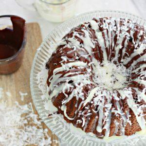 Mounds Bundt Poke Cake