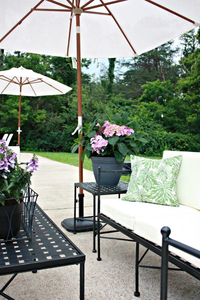 Patio Decorating Ideas Plus Amazing Renovation Reveal