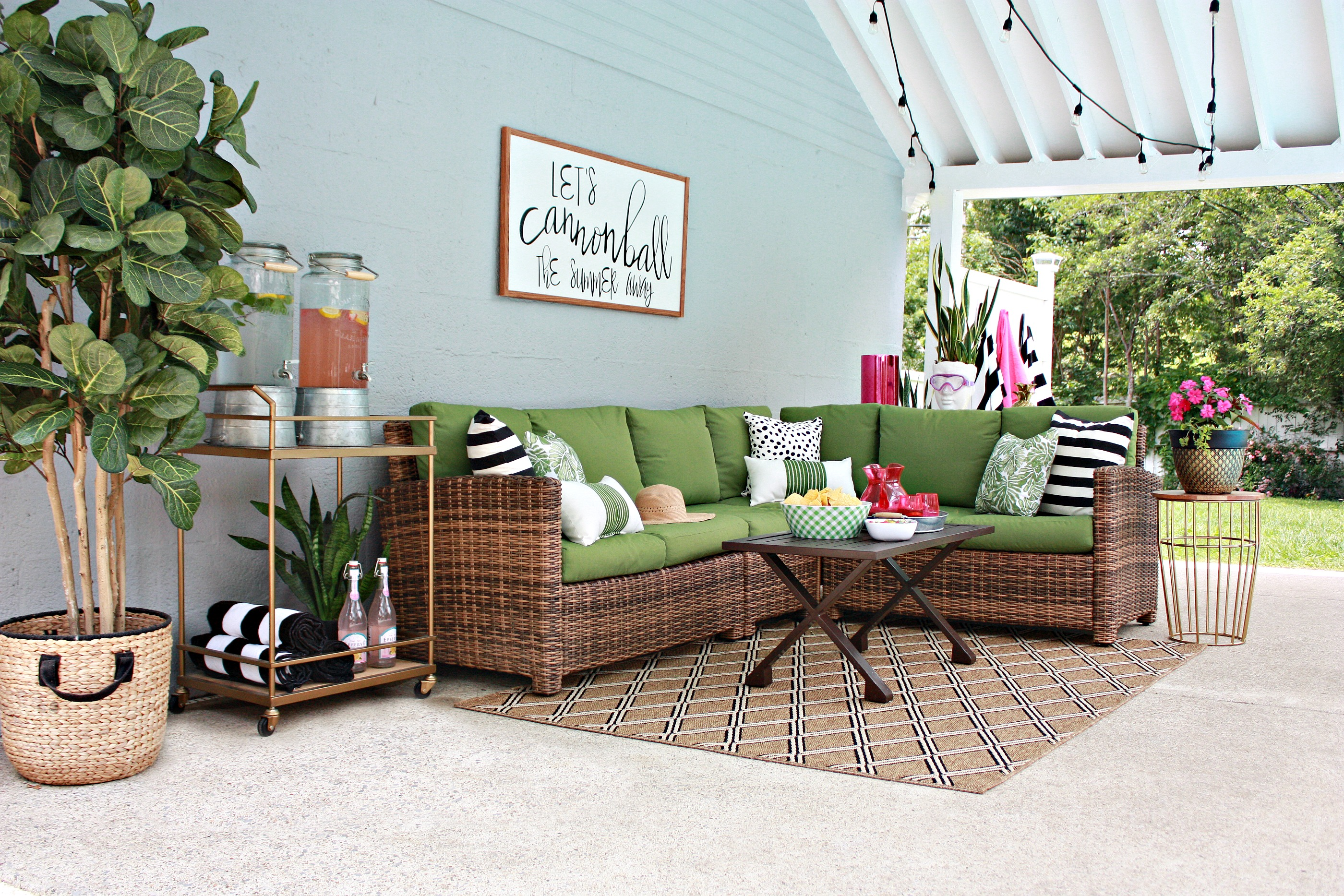 Covered Area Outdoor Space