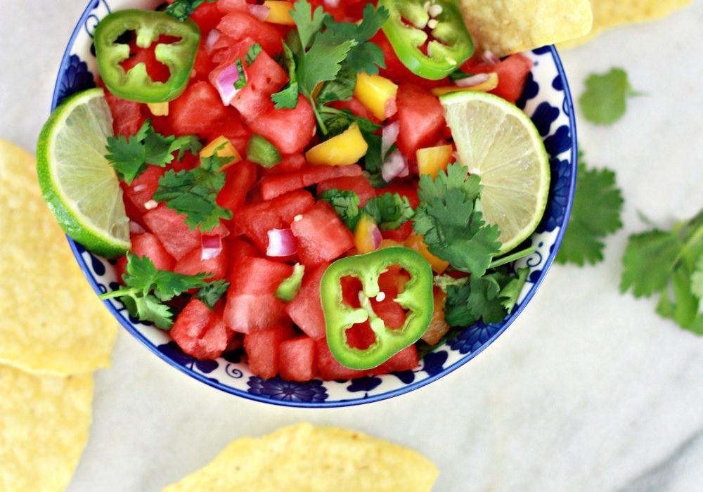 Watermelon Salsa Recipe
