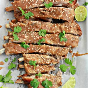 Slower Cooker Thai Style Pork Spare Ribs