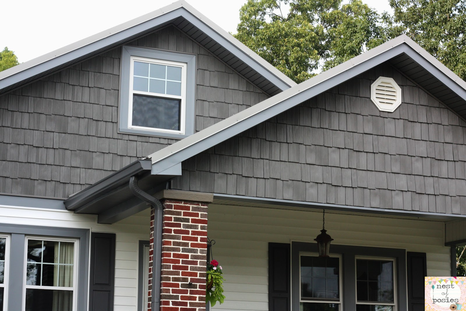 The Gallery For Gt Grey Vinyl Shake Siding